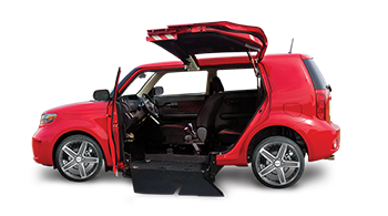 Scion xB Wheelchair Accessible Car