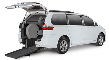 Toyota Sienna Rear-Entry Wheelchair Van