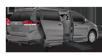 Toyota Sienna Side-Entry Wheelchair Van