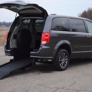 2017 Dodge Grand Caravan Kneelvan Rear