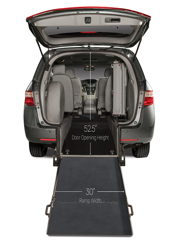 Accessible Odyssey interior from the rear