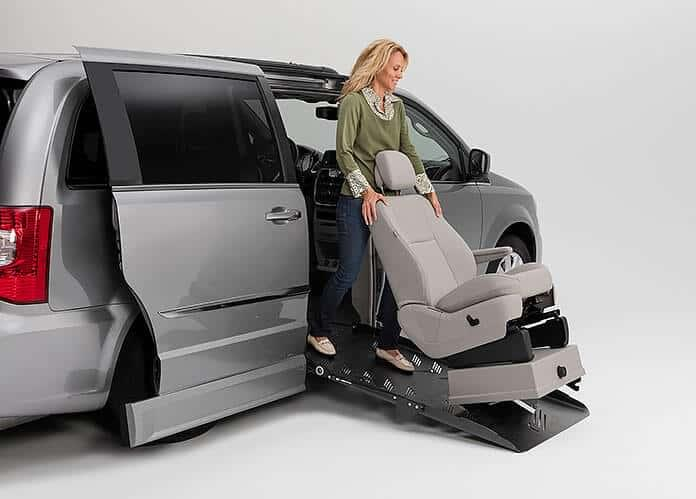Side-Entry Handicap Van Removable Seats