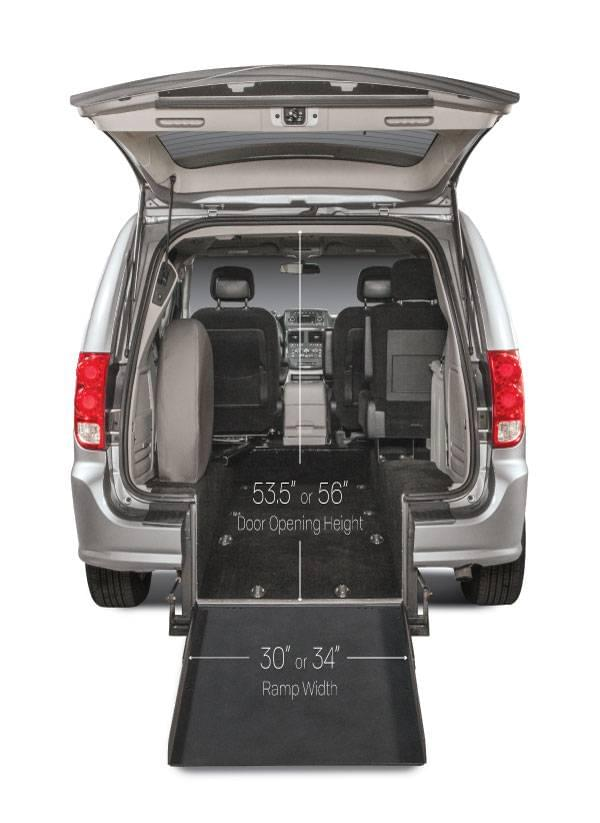 Rear-Entry Grand Caravan Kneelvan