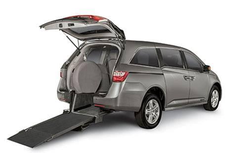 Honda Odyssey Rear Entry