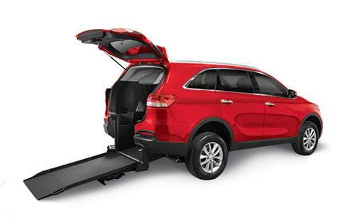 Kia Sorento Rear Entry