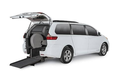 Toyota Sienna Rear Entry