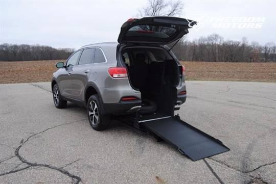 Kia Sorento Wheelchair Accessible Vehicle Rear View