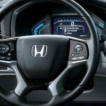 honda odyssey steering wheel