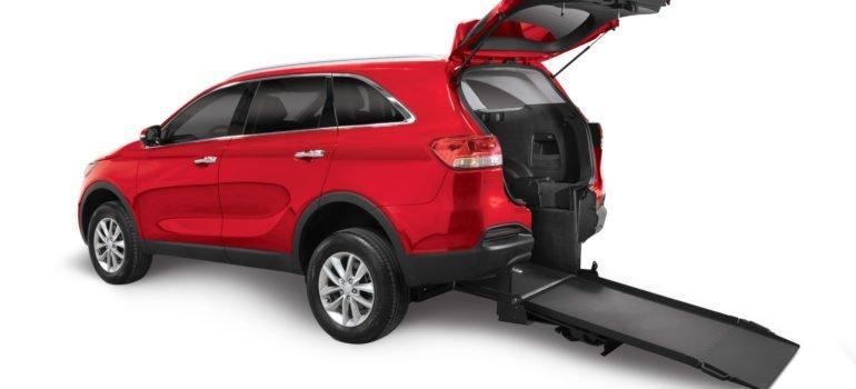 Handicap Accessible Kia Sorento Rear-Entry SUV