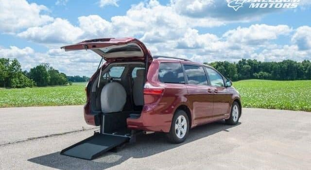 Sienna with Rear Ramp