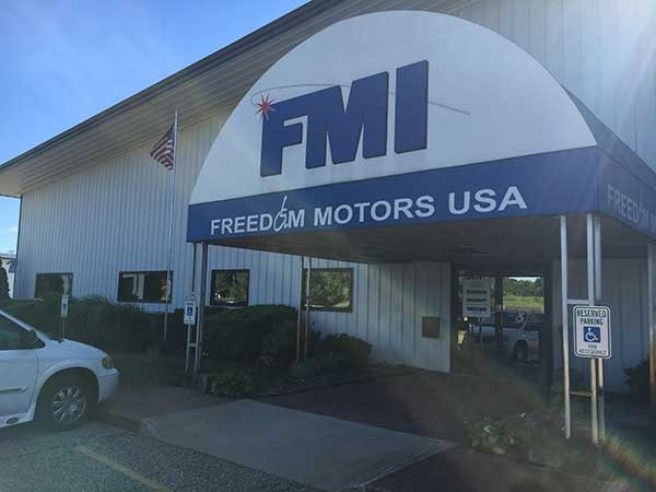The sun is always shining at Freedom Motors USA