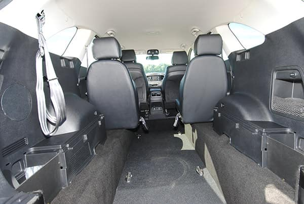 Sorento Modified Interior