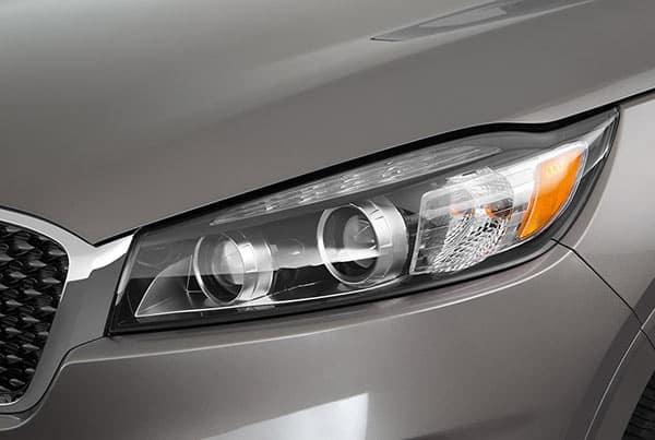 Sorento headlamps