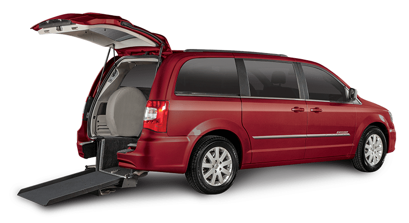 Chrysler Town and Country Red