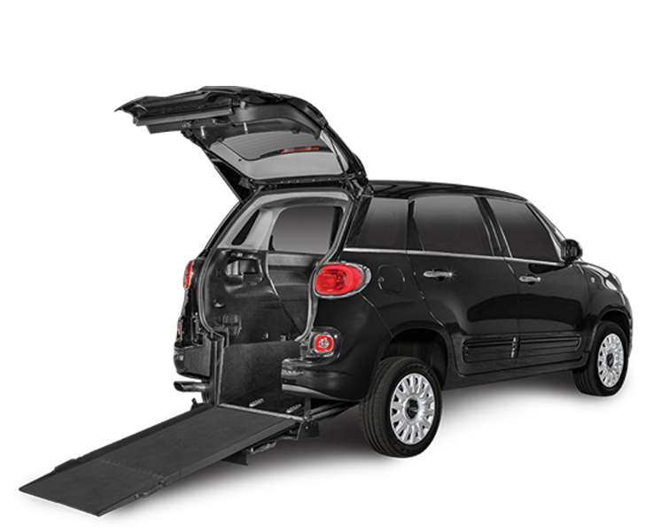 wheelchair accessible fiat 500l info freedom motors usa. Black Bedroom Furniture Sets. Home Design Ideas