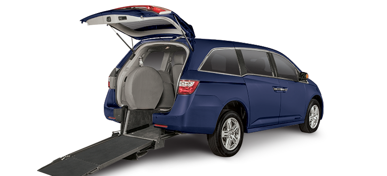 Wheelchair-accessible Honda Odyssey