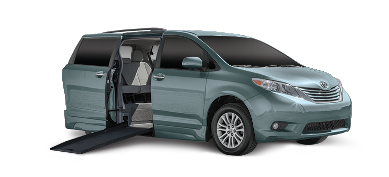 Toyota Sienna Side Color #78898D