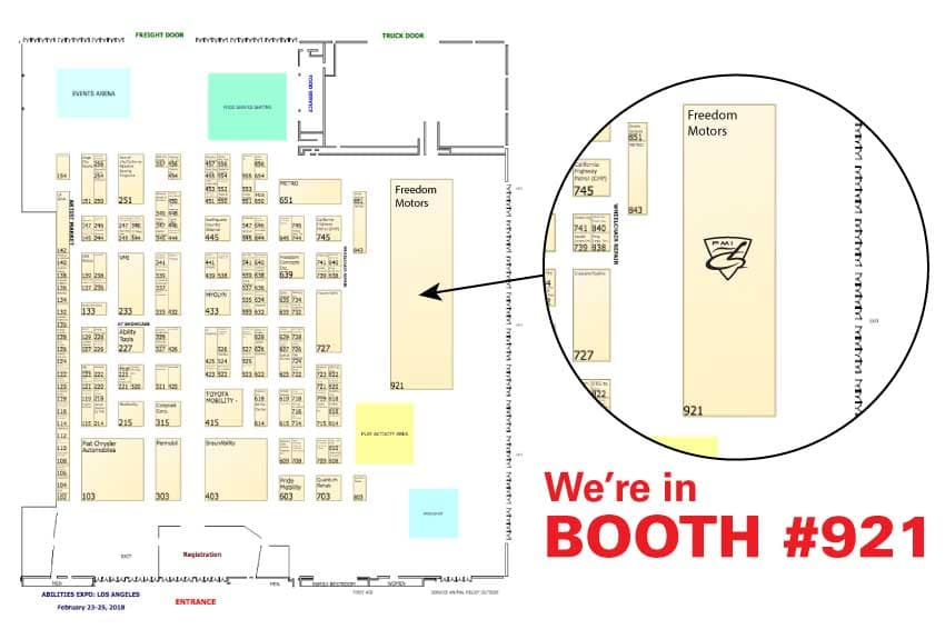 We're in Booth #921