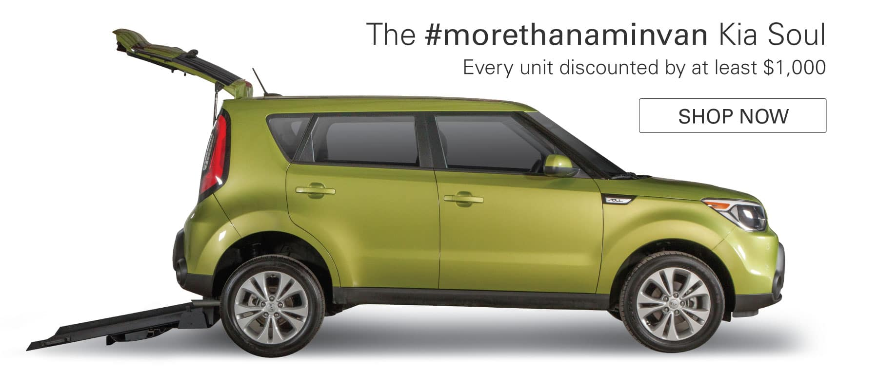The #morethanaminivan Kia Soul - Every unit discounted by at least $1,000