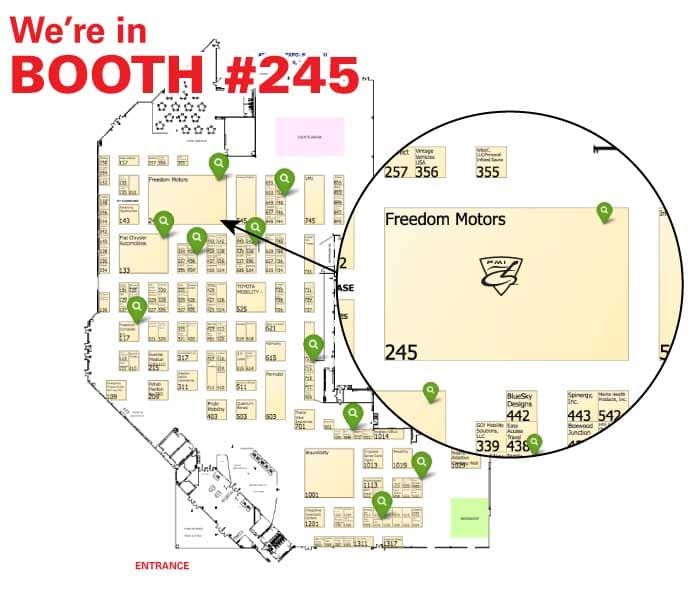 We're in Booth #245
