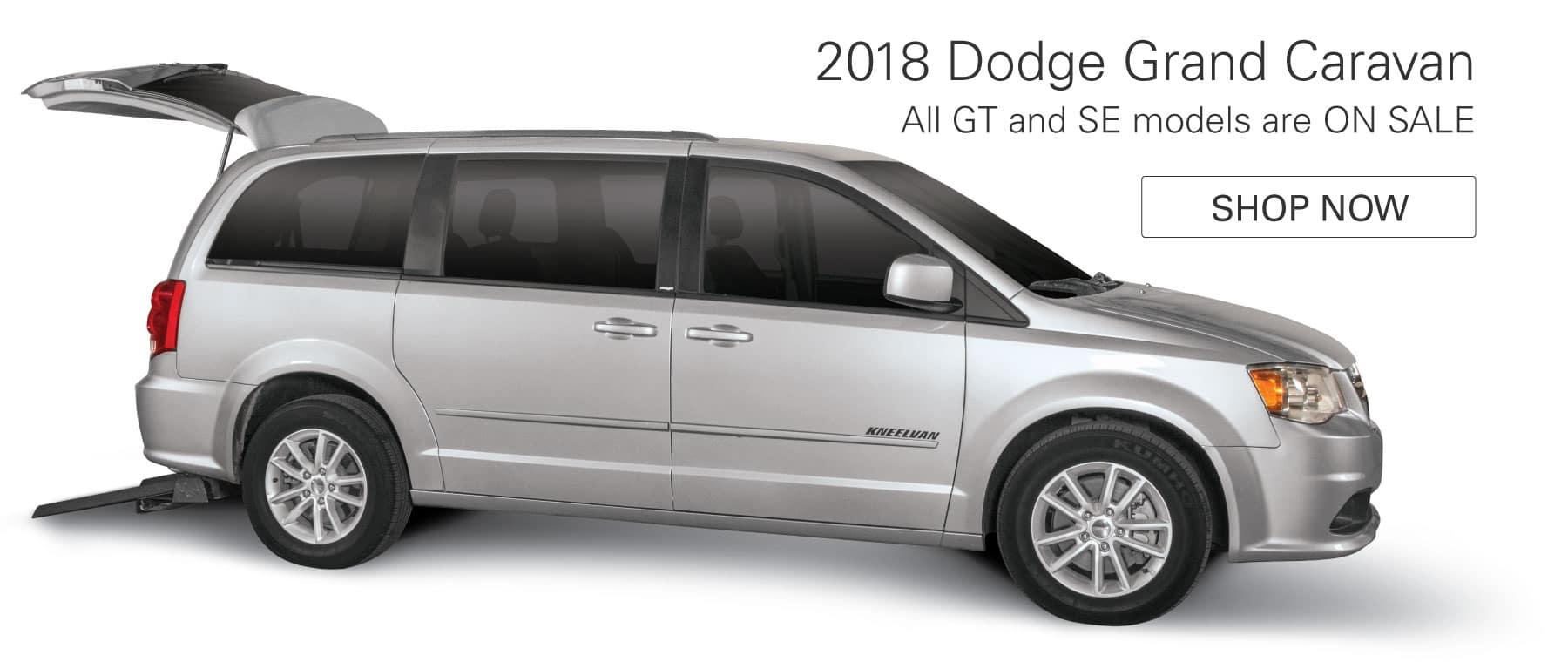 2018 Dodge Grand Caravan - All GT and SE models ON SALE