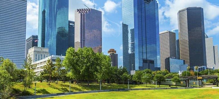 City Of Houston Skyline