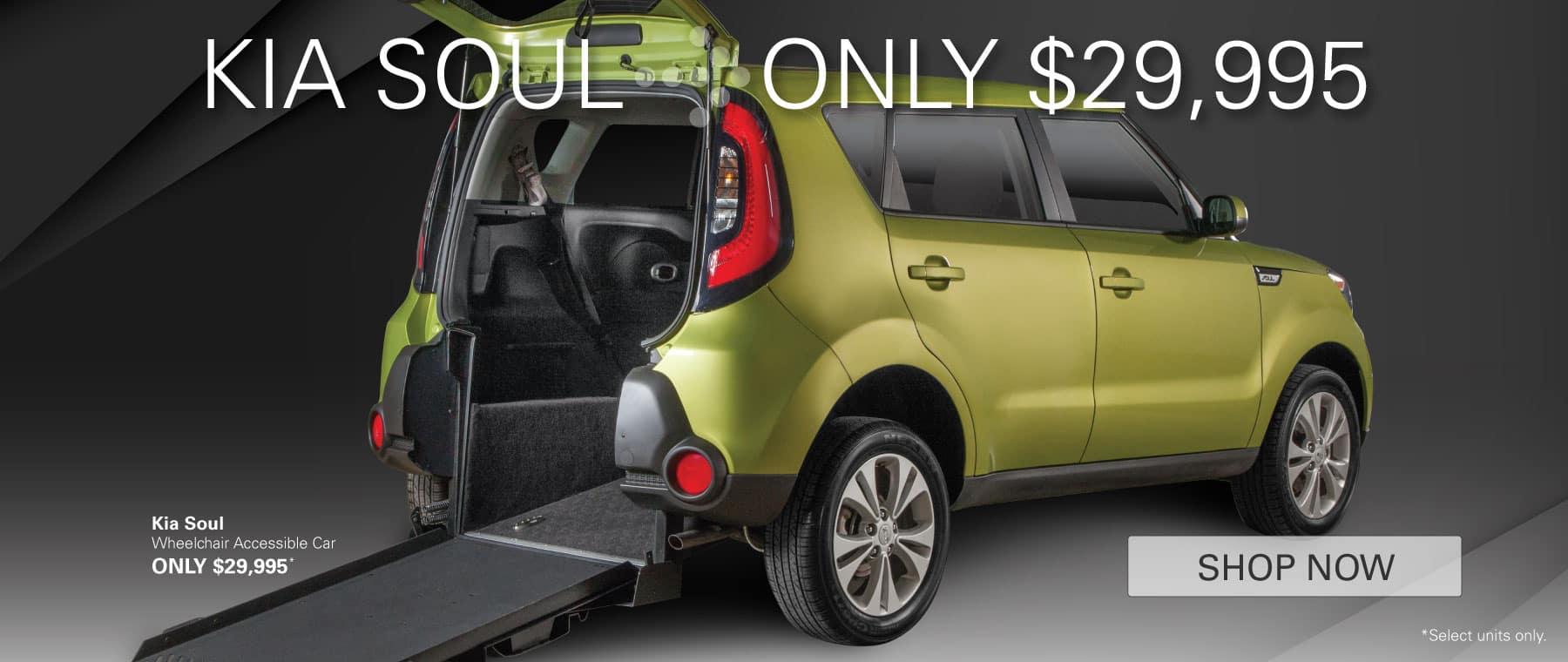 Kia Soul - Only $29,995