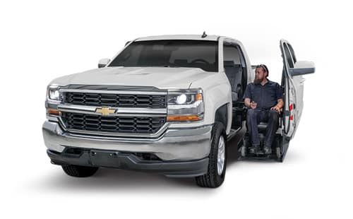 Wheelchair Lift on Chevy Silverado