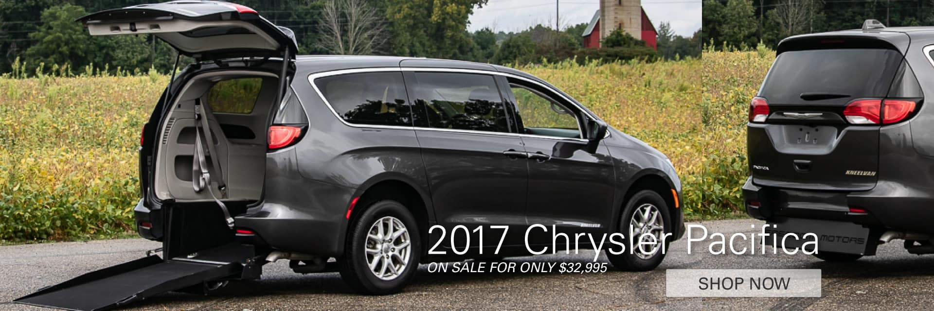 2017 Chrysler Pacifica On Sale Now