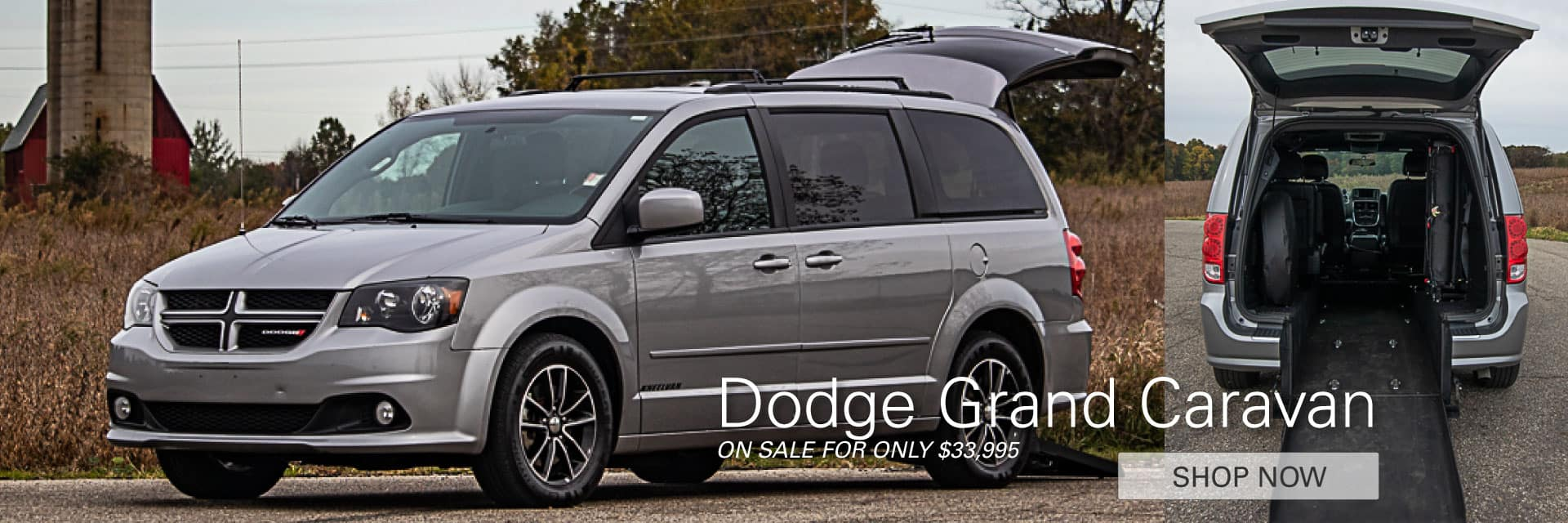 Dodge Grand Caravan On Sale For Only $33,995