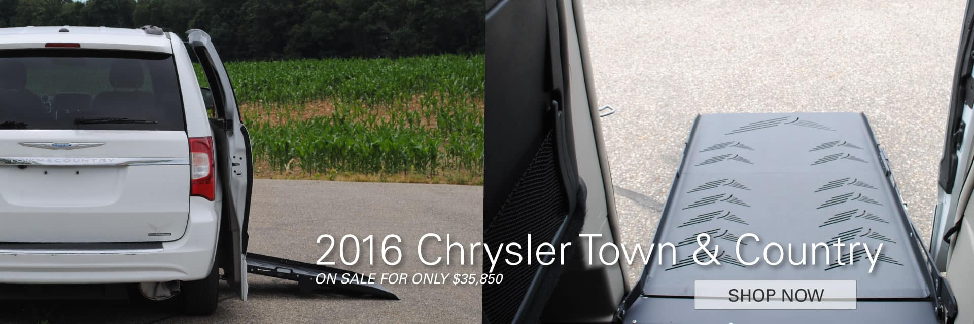 2016 Chrysler Town & Country On Sale For Only $ 35,850