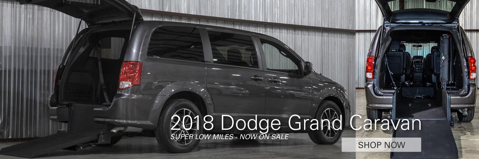 2018 Dodge Grand Caravan On Sale Now
