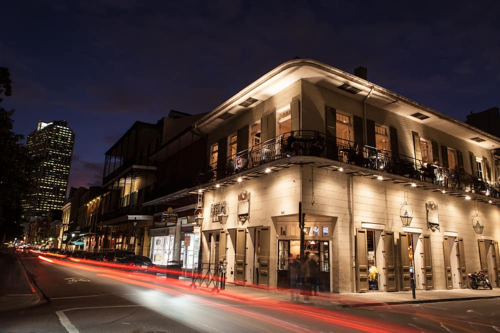 New Orleans French Quarter at Night