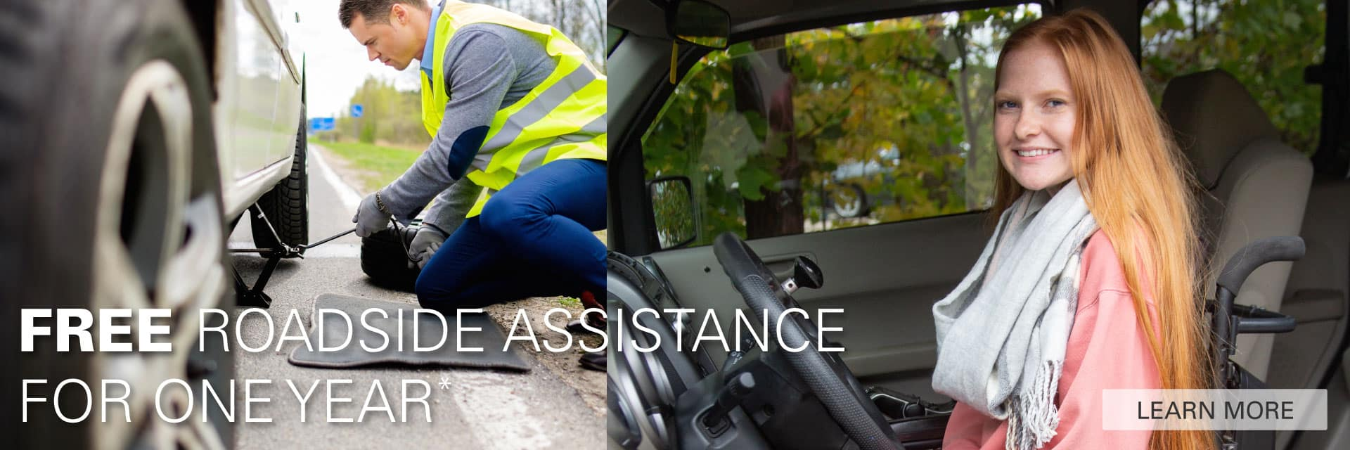 Free Roadside Assistance for a Year