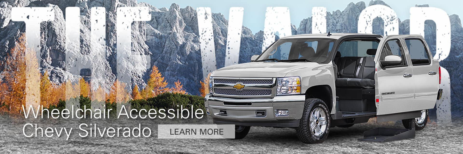 The Valor Wheelchair Accessible Truck from Freedom Motors