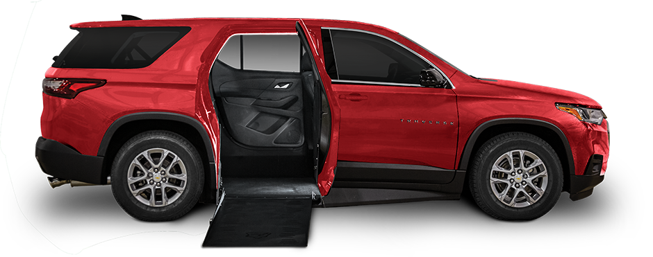 The Freedom Motors Wheelchair Accessible Chevrolet Traverse