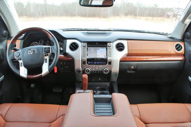 Toyota Tundra 1794 Edition Interior