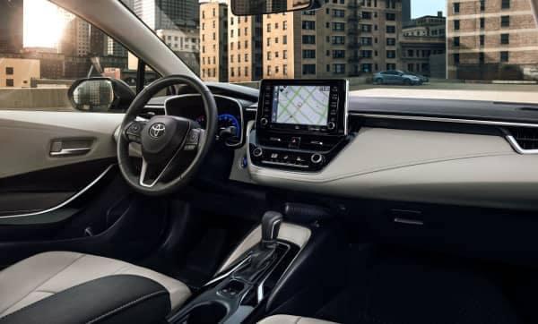 2020 Toyota Corolla interior