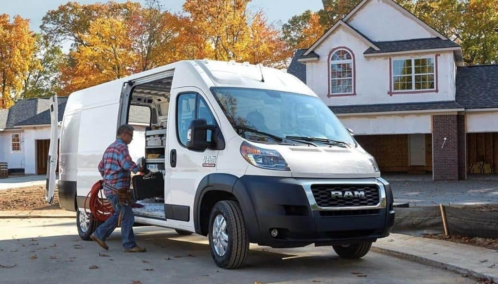 Ram Promaster Cargo Van exterior