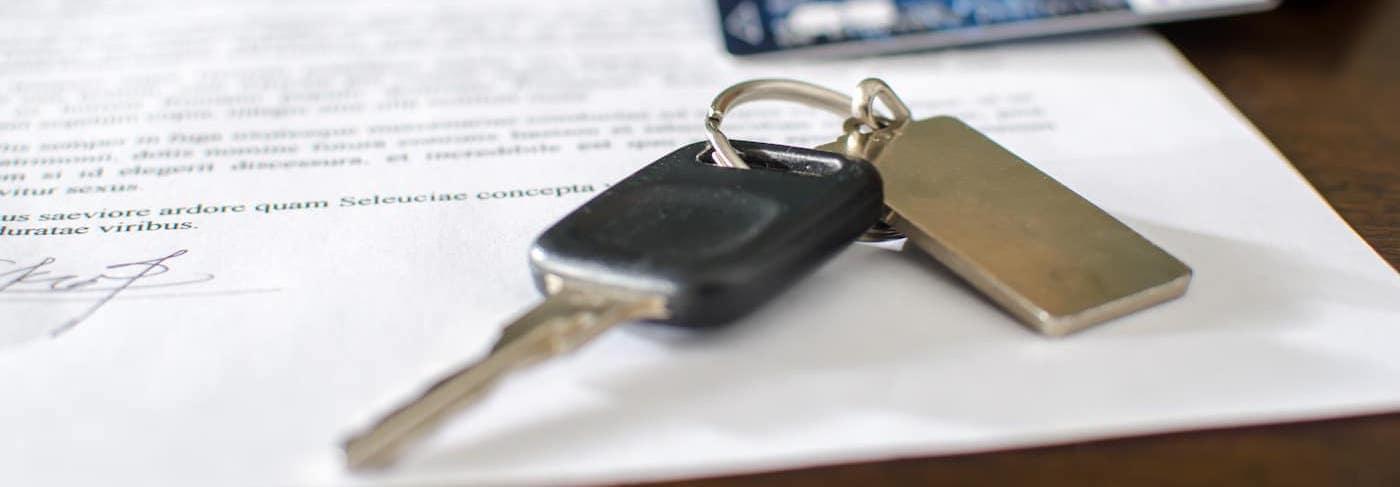 car keys and credit card