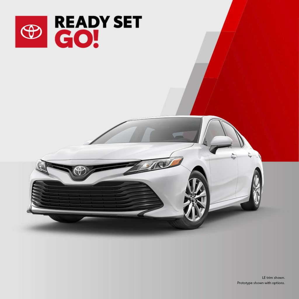New 2020 Toyota Camry LE FWD 4dr Car