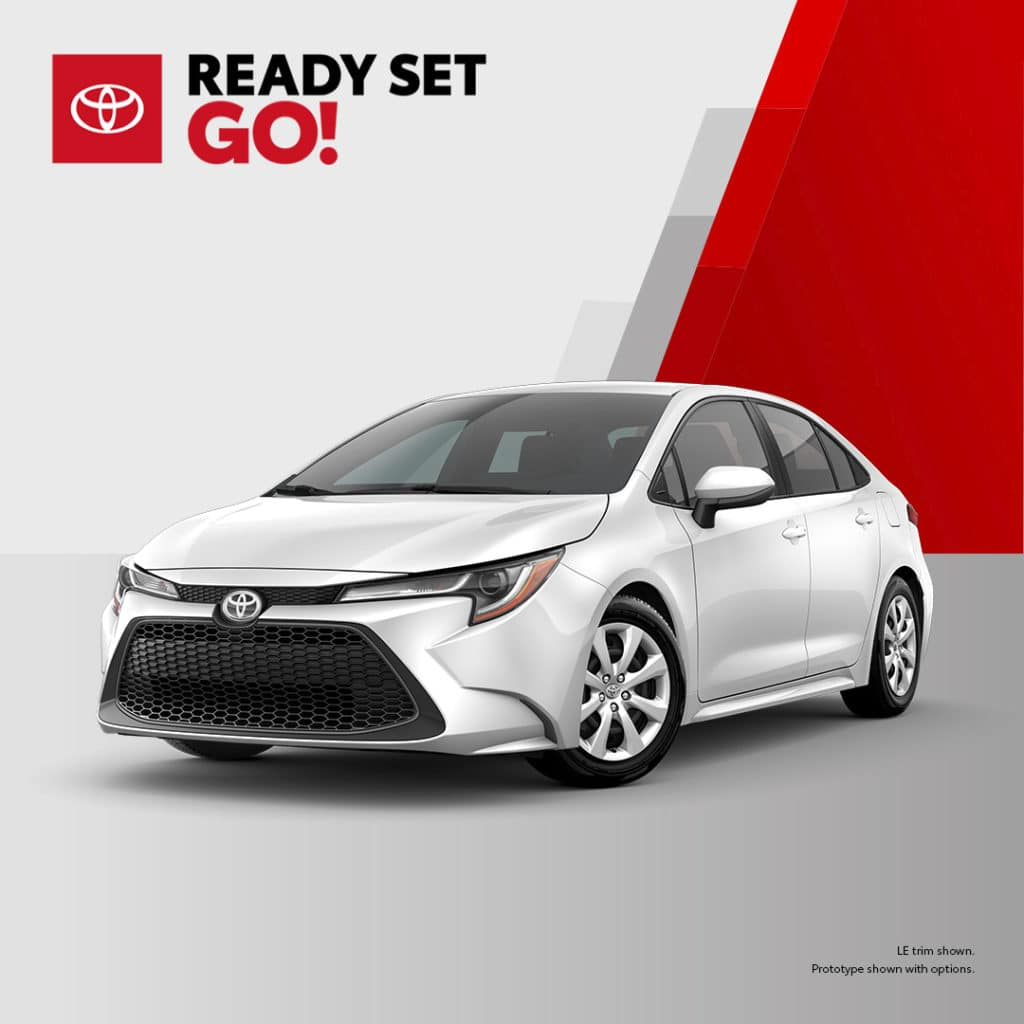 New 2020 Toyota Corolla LE FWD 4dr Car