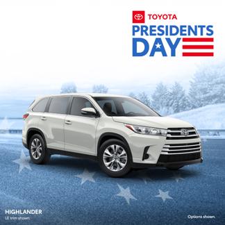 New 2019 Toyota Highlander  AWD