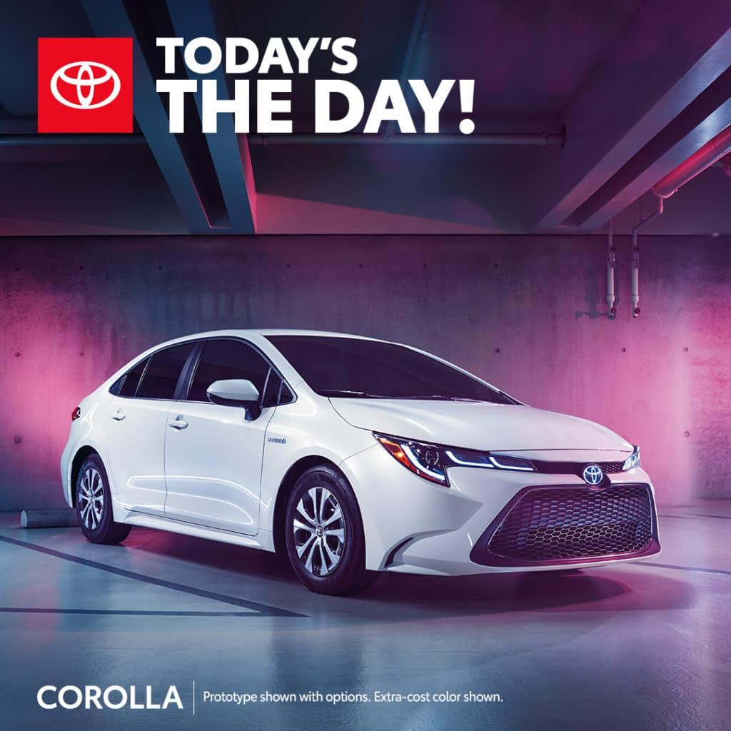 New 2021 Toyota Corolla LE FWD 4dr Car