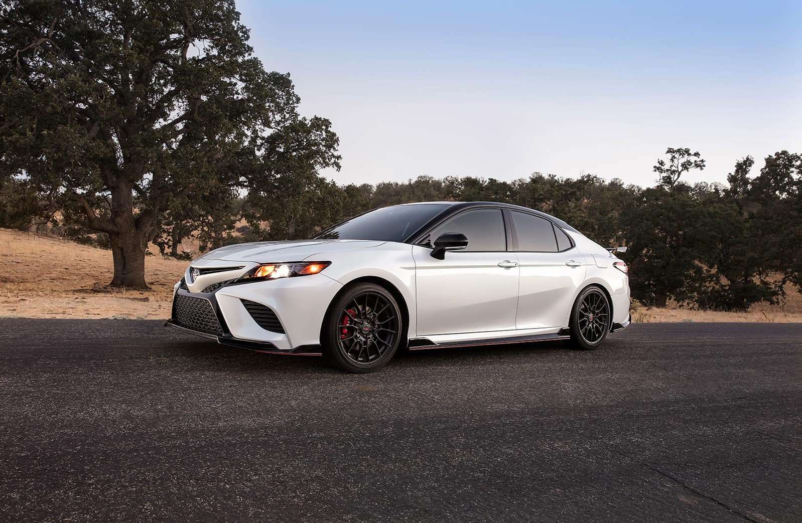 Model Features of the 2020 Toyota Camry at Glen Toyota | profile view of the 2020 camry