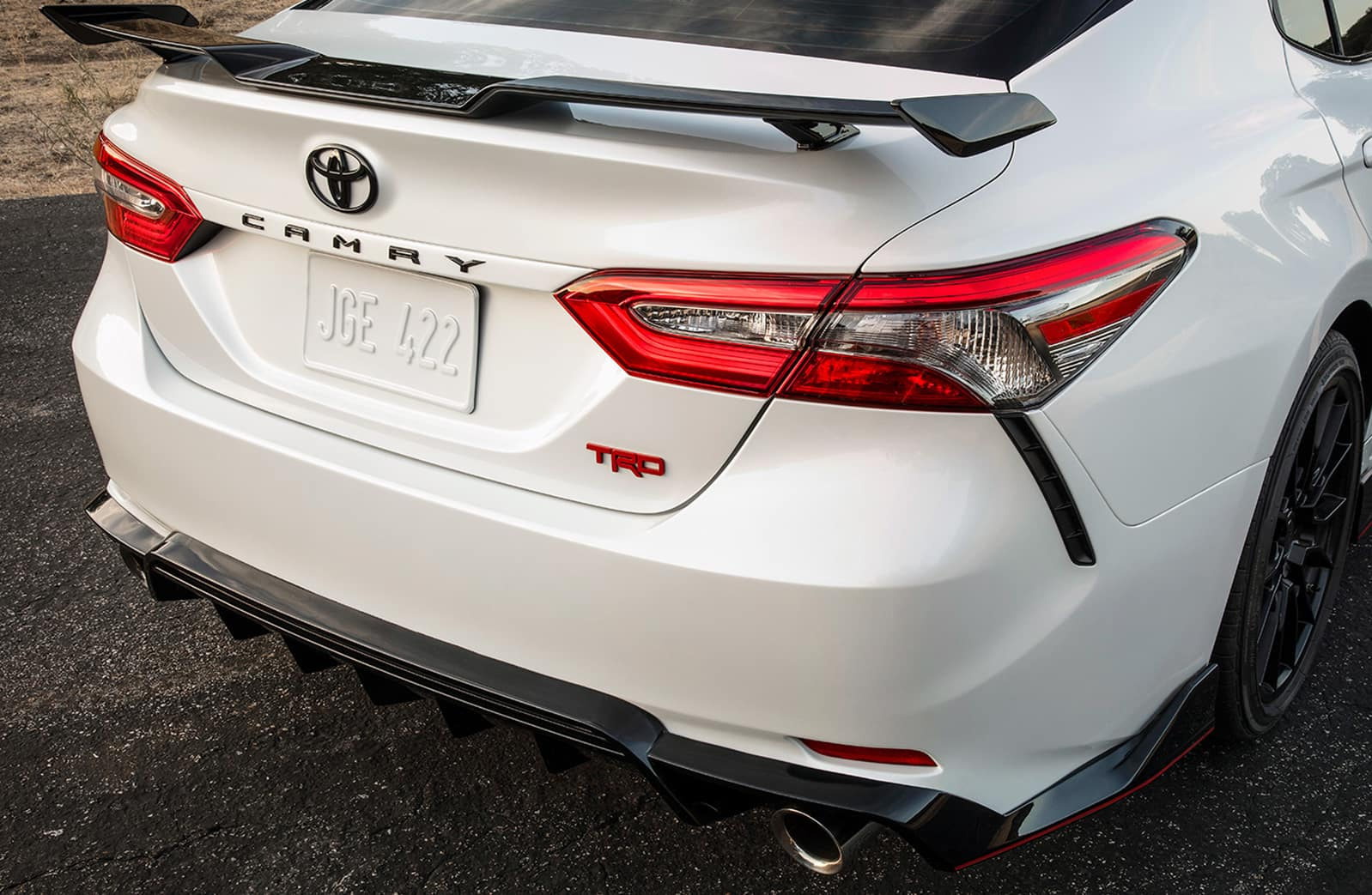 Model Features of the 2020 Toyota Camry at Glen Toyota | the tailend of the 2020 camry