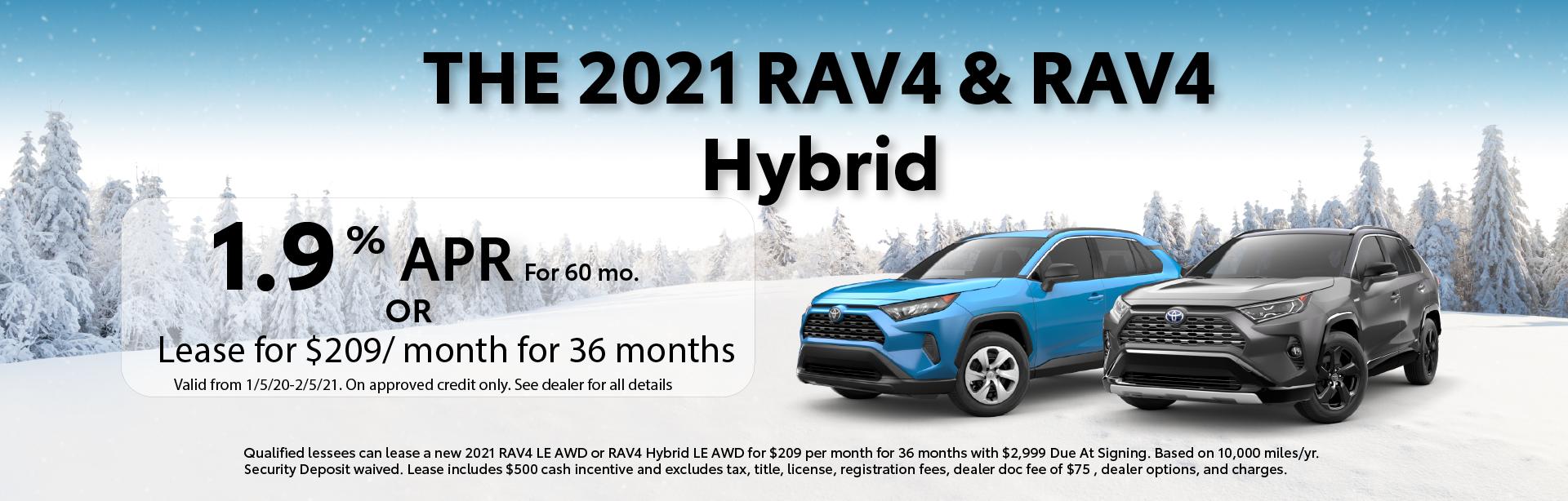 RAV4 – Dealer Inspire Homepage – Glen Toyota