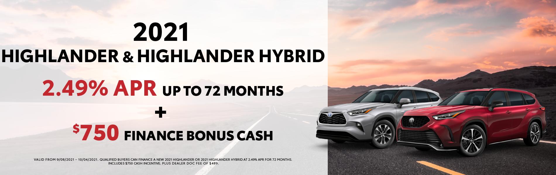 Highlander & Highlander Hybrid