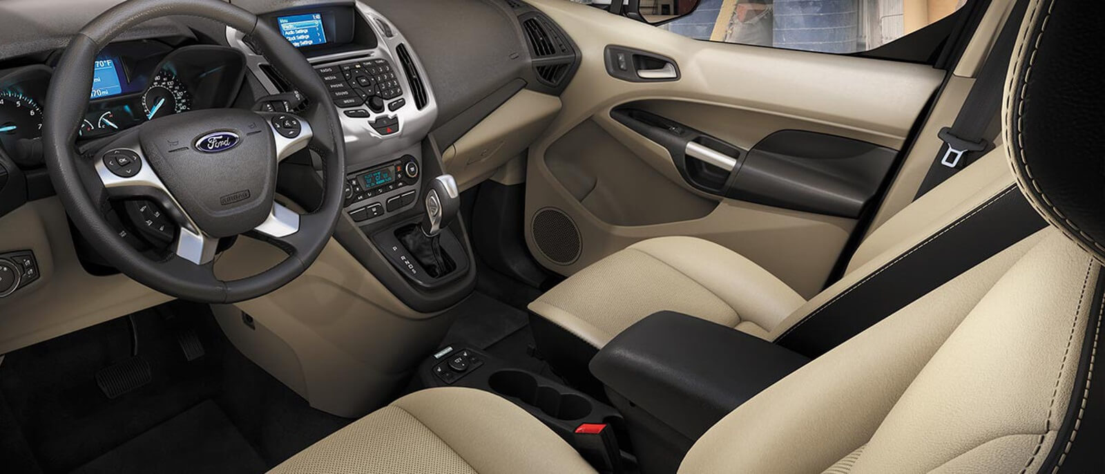 2016 Ford Transit Connect interior front