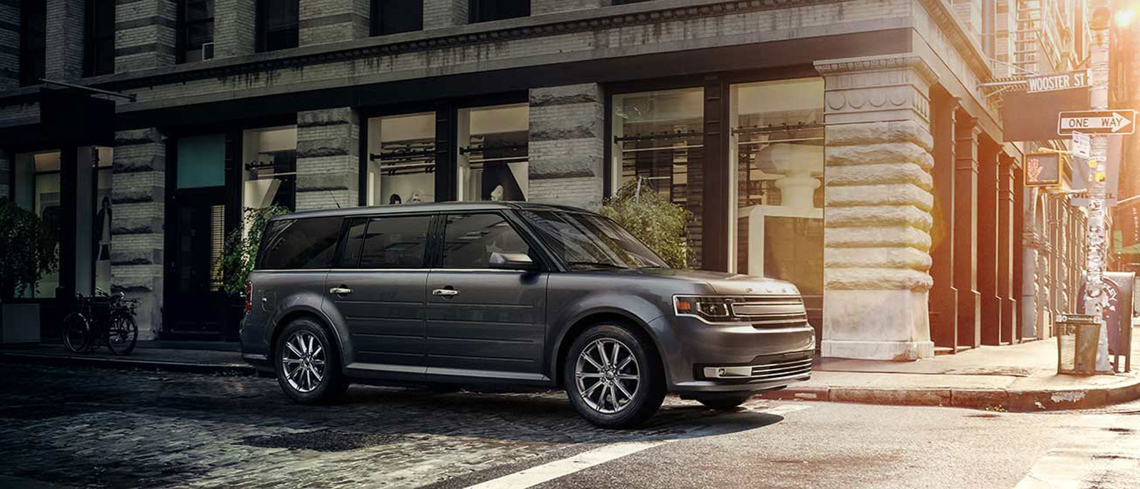Ford Flex Parked On Street